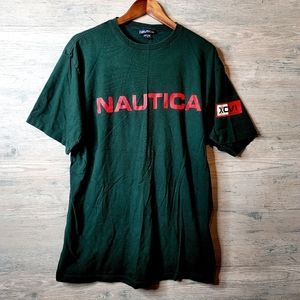 Vintage Nautica Graphic T Shirt. Perfect Condition